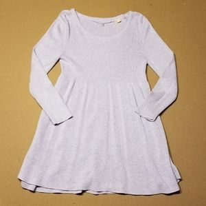 Knitted & Knotted marled lavender sweater